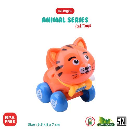 Foto Produk IQ ANGEL CAT TOYS - IQ630 / MAINAN BAYI EDUKATIF - Orange dari KSM Baby and Kids