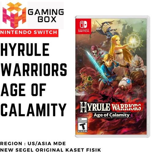 Jual Nintendo Switch Hyrule Warriors Age Of Calamity Us Asia Mde English Kota Bandung Gaming Box Gunawan19 Tokopedia