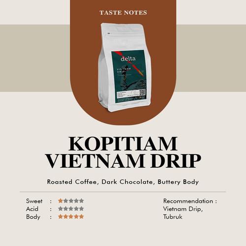 Foto Produk Kopi Tiam Biji Sangrai 200gr dari Taman Delta Coffee Roastery (Supplier Kopi)