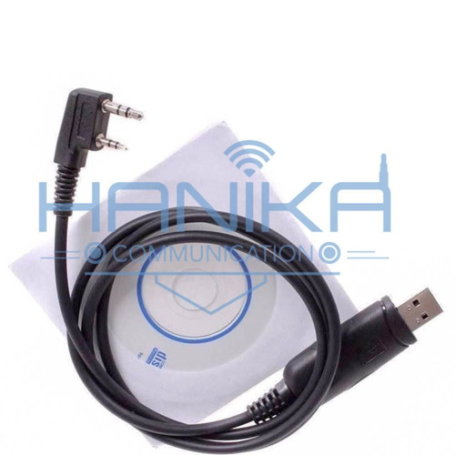 Foto Produk Kabel Program HT Wouxun KG-UV9D Plus Software Cable Data UV9 Woxun dari Hanika Radio