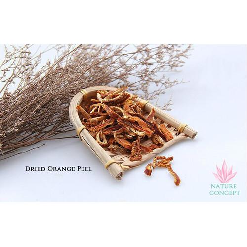 Foto Produk Kulit Jeruk Kering Iris Potongan Dried Orange Peel Chen Pi Cen Pi - 25 gram dari Nature Concept
