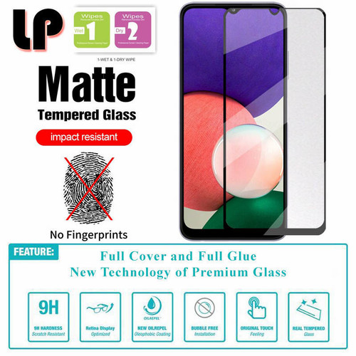 Foto Produk LP Full Matte Tempered Glass Samsung Galaxy A22 4G - M32 dari HPGadget Bandung