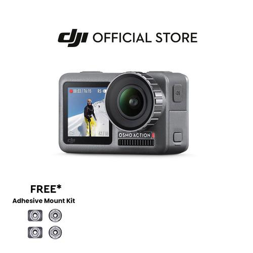 Foto Produk DJI Osmo Action - 4K Action Cam 12MP Digital Display - Garansi 1 Tahun dari DJI Official Store
