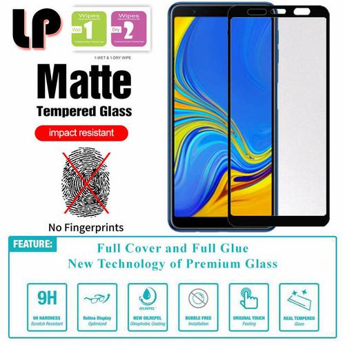 Foto Produk LP Full Matte Tempered Glass Samsung Galaxy A7 2018 dari HPGadget Bandung