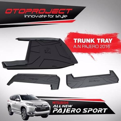 Foto Produk Trunk Tray / Karpet Bagasi All New Pajero Sport 2016 dari Roda4