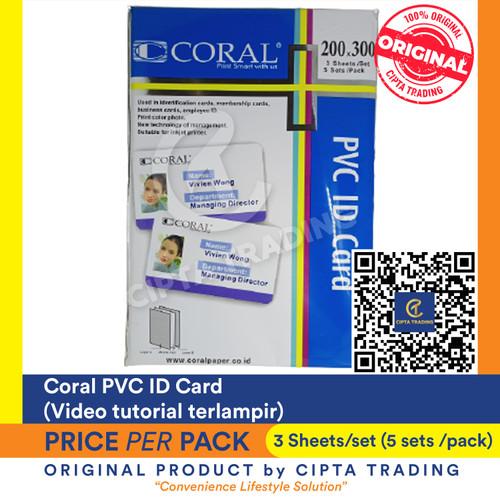 Foto Produk Coral PVC ID Card dari Cipta Trading