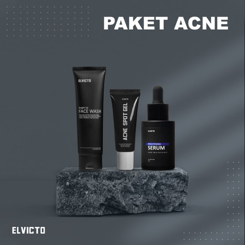 Foto Produk ELVICTO PAKET ACNE - BRIGHT UP dari elvicto.id