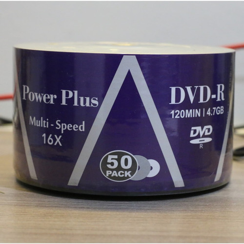 Foto Produk DVD-R Power Plus (50pcs/pax) dari PojokITcom Pusat IT Comp
