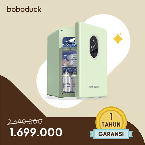 Foto Produk Boboduck UV LED Bottle Sterilizer Dryer Disinfectant Cabinet Box 19L - Produk Utama dari Boboduck Indonesia