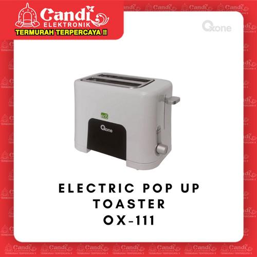 Foto Produk OXONE ELECTRIC POP UP TOASTER OX-111 - Eco Pemanggang Roti OXONE OX111 dari Candi Elektronik Solo
