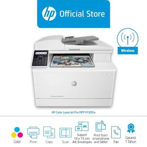 Foto Produk HP MFP M183fw Color LaserJet Pro Printer [7KW56A] dari PojokITcom Pusat IT Comp