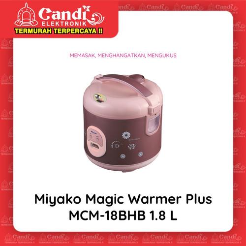 Foto Produk MIYAKO MAGIC COM 1,8 LITER MCM-18 BH B - Magic Warmer Plus MCM-18BHB dari Candi Elektronik Solo