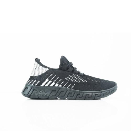 Foto Produk Sepatu sneakers Pria Dane and Dine S0030 Hitam - S0177 Black, 39 dari Dane And Dine