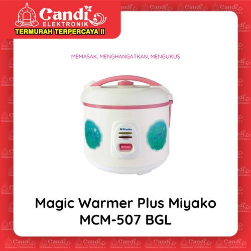 Foto Produk MIYAKO MAGIC COM 1,8 LITER MCM-507BGL - Magic Warmer Plus MCM-507 BGL dari Candi Elektronik Solo
