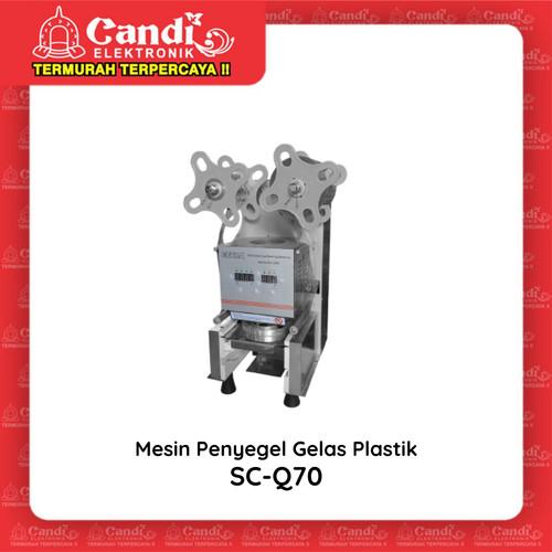 Foto Produk GETRA CUP SEALER SC-Q70 - Mesin Penyegel Gelas Plastik SCQ70 dari Candi Elektronik Solo