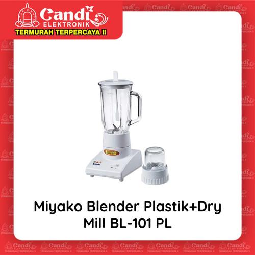 Foto Produk MIYAKO BLENDER PLASTIC JAR BL-101PL - Blender Plastik BL-101 PL dari Candi Elektronik Solo