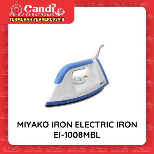 Foto Produk MIYAKO IRON ELECTRIC IRON EI-1008MBL - Setrika Miyako EI-1008 M BL dari Candi Elektronik Solo