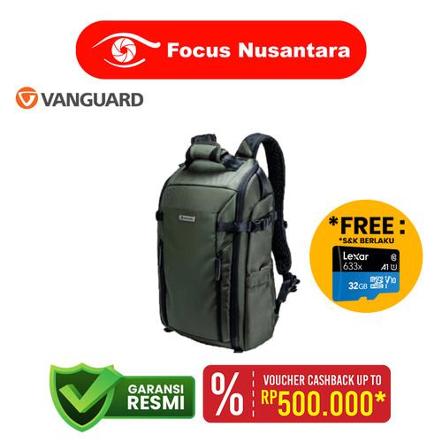 Foto Produk VANGUARD Veo Select 45 BFM Backpack (Green) dari Focus Nusantara