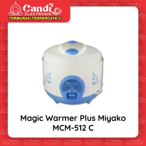 Foto Produk MIYAKO MAGIC COM 1,2 LITER MCM-512C - Magic Warmer Plus Miyako MCM-512 dari Candi Elektronik Solo