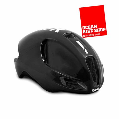 Foto Produk Helm sepeda Helmet Original Kask Utopia Black White - M dari Ocean Bike Official