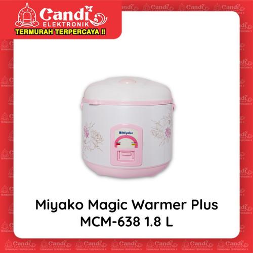 Foto Produk MIYAKO MAGIC COM 1,8 LITER MCM-638 - Magic Warmer Plus Miyako MCM-638 dari Candi Elektronik Solo