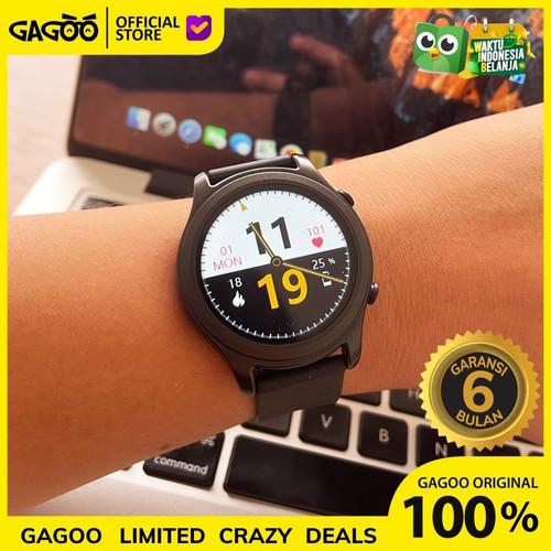Foto Produk Smart Watch [ORIGINAL] Oximeter Sp02 + Thermometer |Odeva Watch G2 - Hitam dari Gagoo Official Store