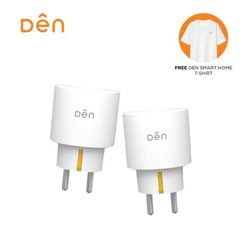 Foto Produk 2PCS DEN Smart Home WiFi Socket/Plug w/ Power Monitoring(Alexa/Google) dari Den Smart Home