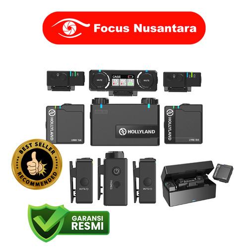 Foto Produk HOLLYLAND Lark 150 Clipon Wireless Microphone System dari Focus Nusantara