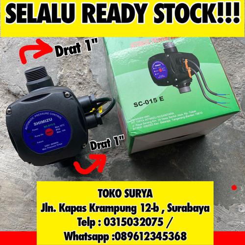 Foto Produk SC 015 E otomatis pompa air shimizu sanyo york anti cetak cetek dari Toko Surya Surabaya