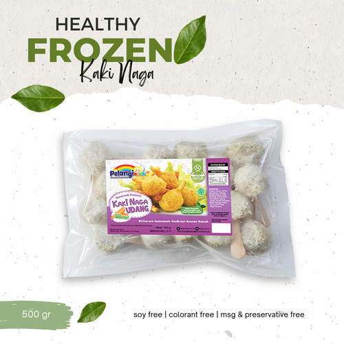 Foto Produk Kaki Naga Udang plus Wortel dari PELANGI HEALTHY FROZEN FOOD OFFICIAL