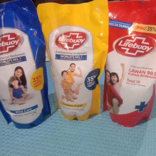 Foto Produk Lifebuoy sabun mandi cair antibacterial bodywash 900ml - Mild Care dari Biobianshop