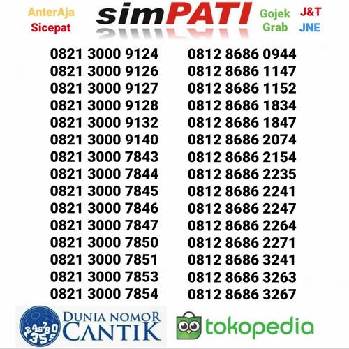 Foto Produk Nomor Cantik Simpati Promo Kartu Perdana Telkomsel 4G Murah dari Nomor Cantik 89