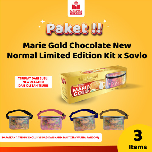 Foto Produk Marie Gold New Normal Limited Edition Kit x Sovlo dari Mayora Official Store