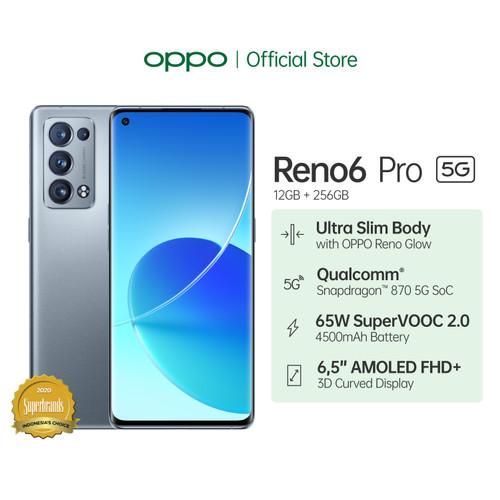 Foto Produk OPPO Reno6 Pro 5G Smartphone 12GB/256GB (Garansi Resmi) dari OPPO OFFICIAL STORE