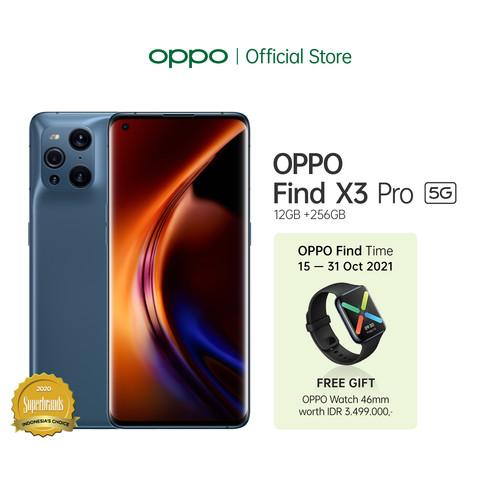 Foto Produk OPPO FIND X3 PRO Smartphone 12GB/256GB (Garansi Resmi) - Biru dari OPPO OFFICIAL STORE