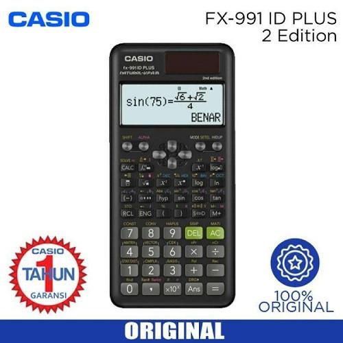 Foto Produk kalkulator calculator scientific casio fx-991ID Plus fx991id plus ori dari nagajaya123