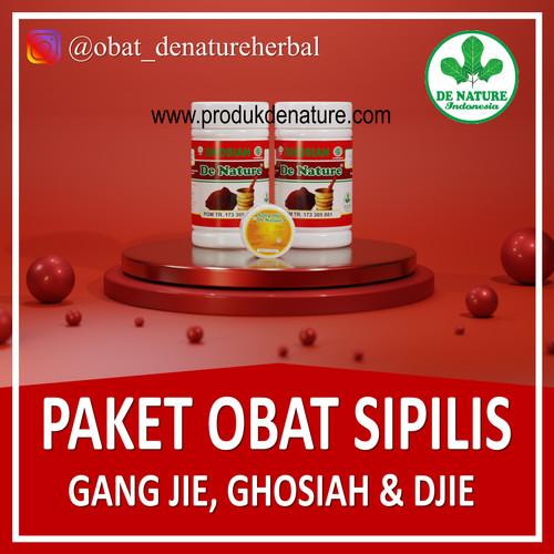 Foto Produk Paket Ampuh Obat Sipilis Gonore Kencing Nanah De Nature Indonesia dari Toko De Nature Ampuh