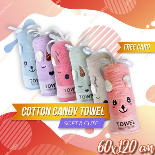 Foto Produk Cotton Candy Baby Towel / Handuk Bayi / Kado Bayi / Kado Lahiran - RANDOM dari Heiby Baby