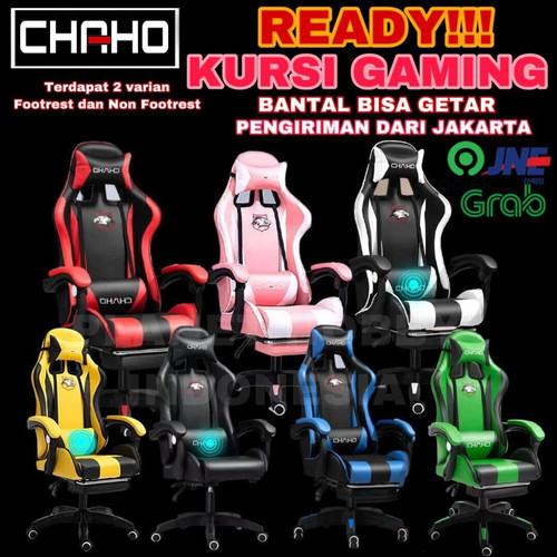 Foto Produk Bangku Gaming Kursi Gaming Gaming Chair Termurah - Merah NON FTRS dari Planet Hobby Indonesia