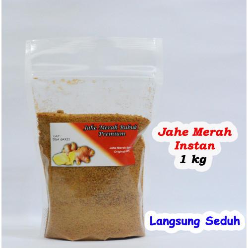 Foto Produk Jahe Merah Bubuk / Jahe Merah Bubuk Instant / Bubuk Jahe Merah 1kg - INSTAN dari Dua Garis Store