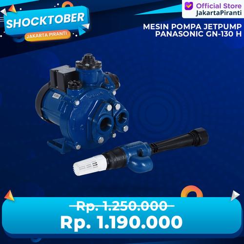 Foto Produk Mesin Pompa Sumur Dalam Jetpump 125 Watt Panasonic GN-130 H - Tanpa Bubble dari Jakarta Piranti