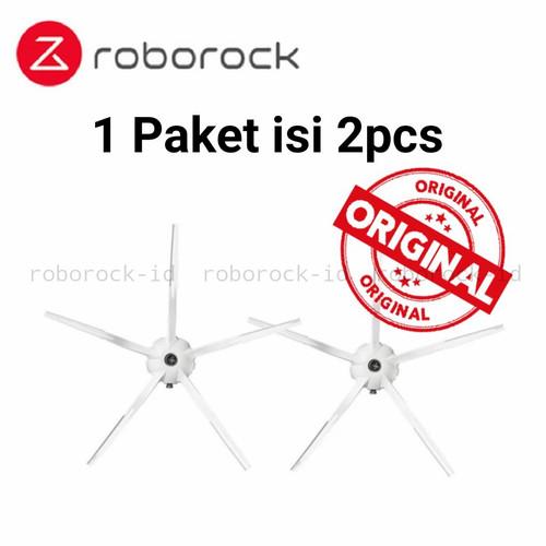 Foto Produk Original Xiaomi Roborock Side Brush - 1 Paket Isi 2pc Sidebrush dari Roborock Indonesia