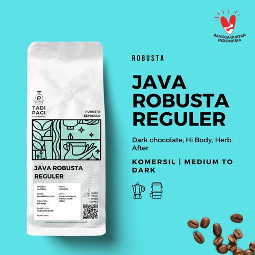 Foto Produk Espresso Robusta / Es Kopi susu Blend 1kg dari TADI PAGI ROASTERY