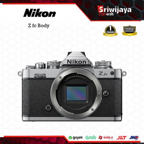 Foto Produk Camera Nikon Z fc Body dari Sriwijaya Camera Denpasar