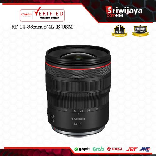 Foto Produk Lensa Canon RF 14-35mm f/4L IS USM dari Sriwijaya Camera Denpasar