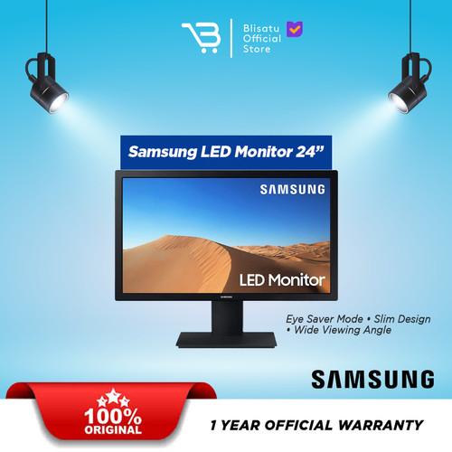 Foto Produk SAMSUNG LED Monitor Curved 24 Inch LC24F390FHE - LS24A310NHUXEN dari BLISATU