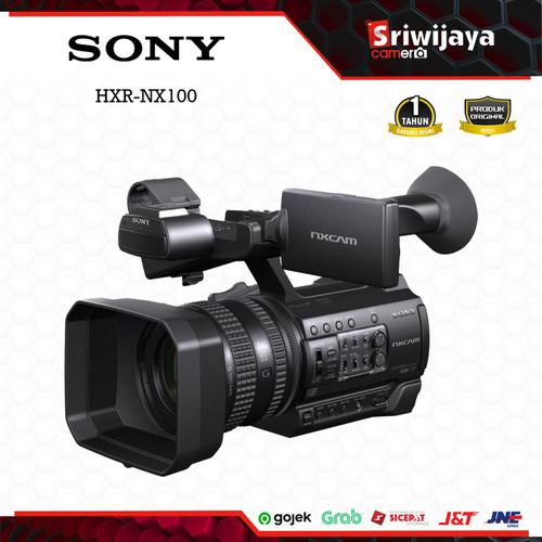 Foto Produk Camcorder SONY HXR-NX100 dari Sriwijaya Camera Denpasar