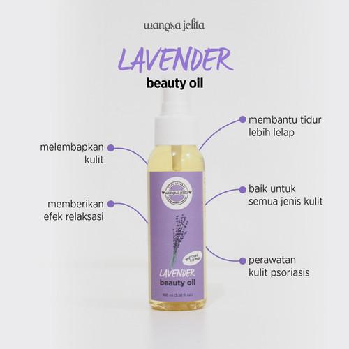 Foto Produk Wangsa Jelita Lavender Beauty Oil 100 ml - 100 ml dari Wangsa Jelita Official