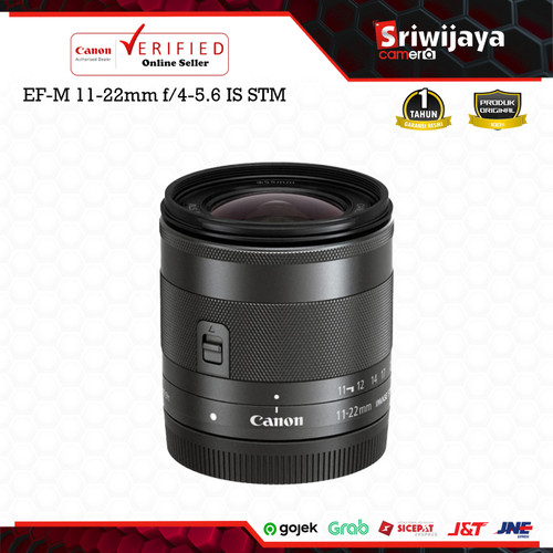 Foto Produk Lensa Canon EF-M 11-22mm f/4-5.6 IS STM dari Sriwijaya Camera Denpasar