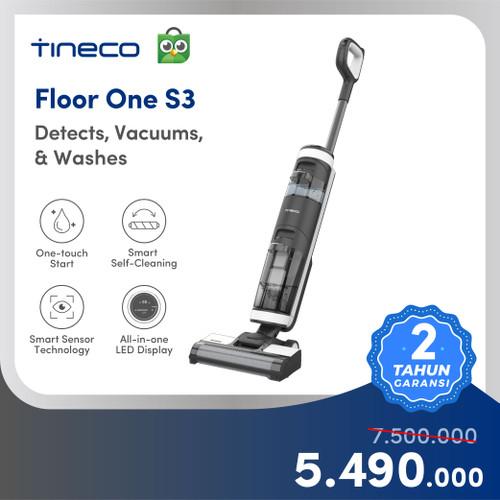 Foto Produk Tineco Floor One S3 Smart Wet Dry Handheld Vacuum Cleaner Floor Washer - FloorOneS3 dari Tineco Indonesia